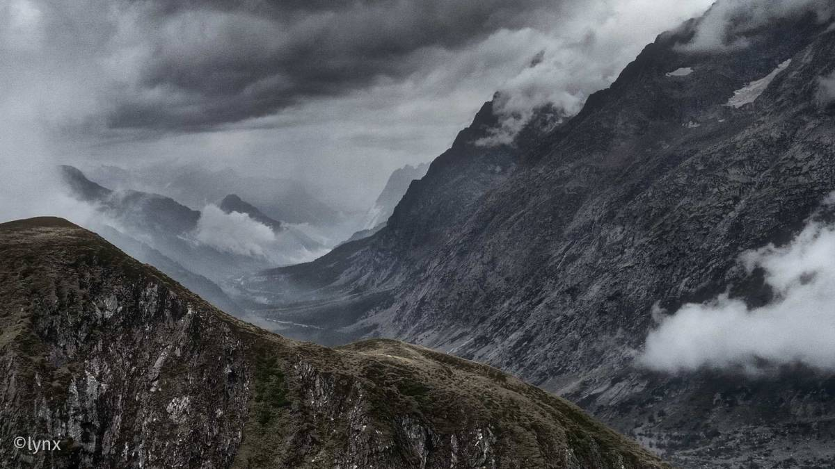 Berg- und Talfahrt